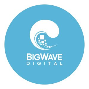 Image of Big Wave Digital company logo Andrew Lau Copywriter's client
