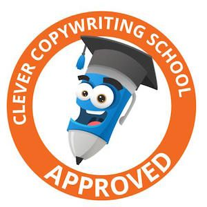 Image of copywriting certification from The Clever Copywriting School
