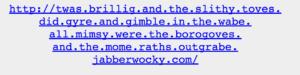 Image of really long domain URL