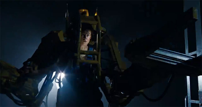 Image of Ripley in power loader