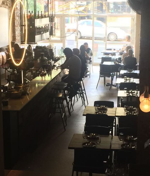 Image of Lucky Suzie restaurant interior from back